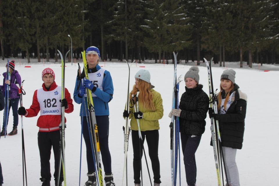 Лыжные гонки ПКЭУ